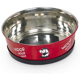 Nobby Hundenapf Heavy Woof 1 ltr. rot