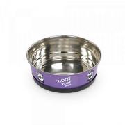 Nobby Hundenapf Heavy Woof 0,5 ltr. lila