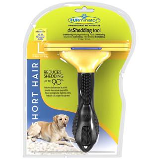 Furminator für kurzhaarige Hunde L