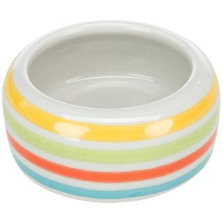 Trixie Keramiknapf 50ml grün gestreift