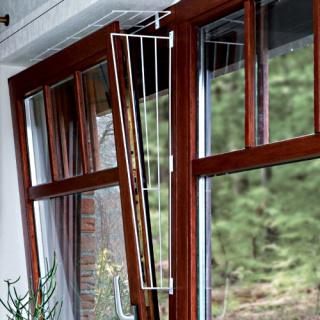 Trixie Kippfenster Schutzgitter Eckig