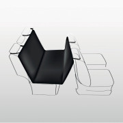 Trixie Auto Schondecke 1,40x1,45m schwarz-braun