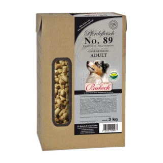 Bubeck Hundetrockenfutter Pferd & Kartoffel gebacken Nr. 89 3kg