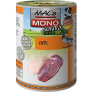 MACs Hundenassfutter Mono Sensitive Ente 6x 400g