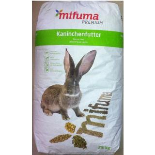 Mifuma Kaninchenfutter Plus 25kg
