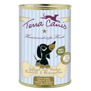 Terra Canis Hundenassfutter Welpenmenü Geflügel 12x400g
