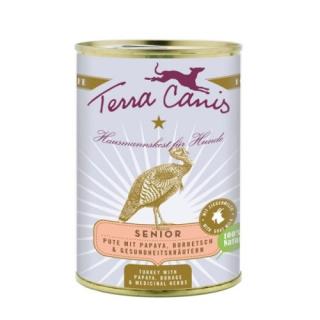 Terra Canis Hundenassfutter Senior mit Pute 12x400g