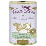 Terra Canis Hundenassfutter Senior mit Rind 12x400g