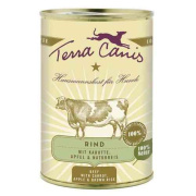 Terra Canis Hundenassfutter Classic Rind mit Karotte 12x400g