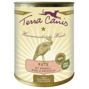 Terra Canis Hundenassfutter Classic Pute mit Brokkoli und...