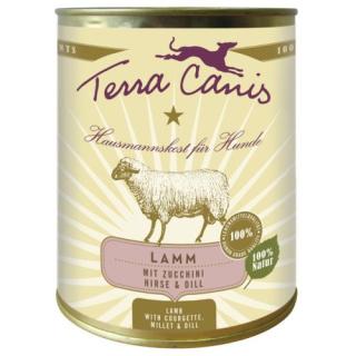 Terra Canis Hundenassfutter  Classic Lamm mit Zucchini 6x800g
