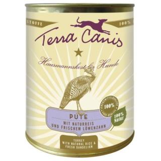 Terra Canis Hundenassfutter Classic Pute mit Naturreis 6x800g