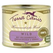 Terra Canis Hundenassfutter Classic Wild mit Kürbis...