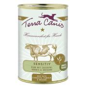 Terra Canis Hundenassfutter Sensitive Rind 12x400g