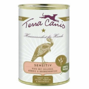 Terra Canis Hundenassfutter Sensitive Pute 12x400g