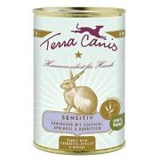 Terra Canis Hundenassfutter Sensitiv Kaninchen 12x400g