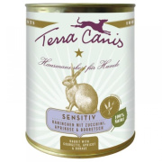 Terra Canis Hundenassfutter Sensitiv Kaninchen 6x800g