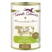 Terra Canis Hundenassfutter  Rind Light mit Kürbis,...
