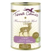 Terra Canis Hundenassfutter Wild Light mit Gurke,...