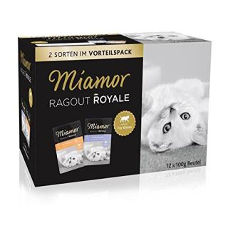 Miamor Ragout Royale Vorteilspack für Kitten 48x100g