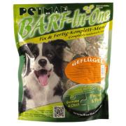Petman Hunde-Frostfutter Barf in One Geflügel 25x750g