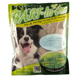 Petman Hunde-Frostfutter Barf in One Junior 25x750g