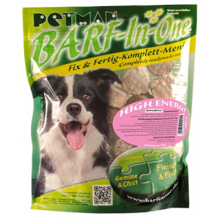 Petman Hunde-Frostfutter Barf in One High Energy 16x750g