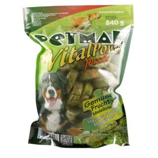 Petman Hunde-Frostfutter Gemüse Frucht Medaillons 12x840g