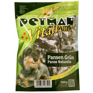Petman Hunde-Frostfutter Pansen grün -wiederverschließbar 20x1000g