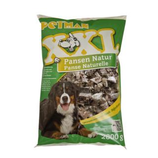 Petman Hunde-Frostfutter Pansen Natur XXL 3x2000g
