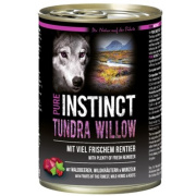 PURE INSTINCT Hundenassfutter Tundra Willow mit Rentier 400g
