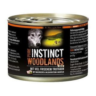 PURE INSTINCT Hundenassfutter Woodlands Junior mit Truthahn 200g