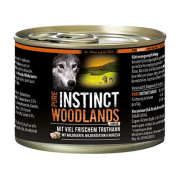 PURE INSTINCT Hundenassfutter Woodlands Junior mit...