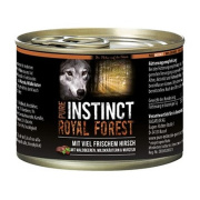PURE INSTINCT Hundenassfutter Royal Forest mit Hirsch 200g