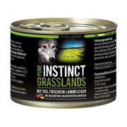 PURE INSTINCT Hundenassfutter Grasslands mit Lamm 200g