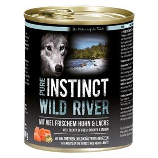 PURE INSTINCT Hundenassfutter Wild River mit Huhn und Lachs 800g