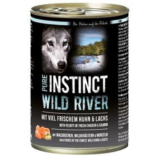 PURE INSTINCT Hundenassfutter Wild River mit Huhn und Lachs 400g