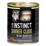PURE INSTINCT Hundenassfutter Summer Cloud mit Ente 800g