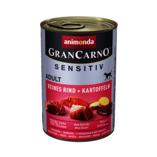 animonda GranCarno Sensitiv Reines Rind und Kartoffel 400g