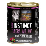 PURE INSTINCT Hundenassfutter Tundra Willow mit Rentier 800g