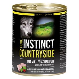 PURE INSTINCT Hundenassfutter Countryside mit Pute 800g