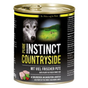 PURE INSTINCT Hundenassfutter Countryside mit Pute 800g