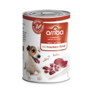 arriba Hundenassfutter mit frischem Rind 400g