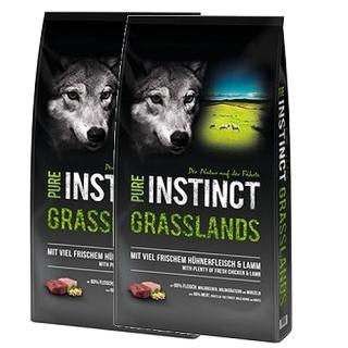 Schock´s PURE INSTINCT Grasslands mit Huhn und Lamm 2x12kg