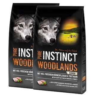Schock´s PURE INSTINCT Woodlands Junior mit Huhn und Truthhahn 2x 8kg