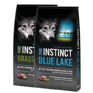 Schock´s PURE INSTINCT 1x Blue Lake 12kg und 1x Grasslands 12kg