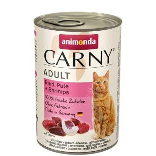 animonda Carny Adult Rind, Pute und Shrimps 400g