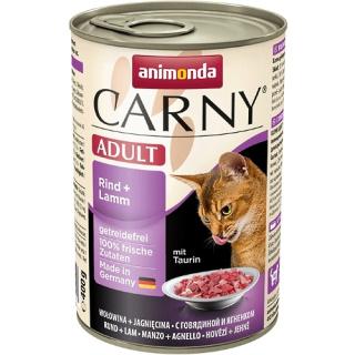 animonda Carny Adult Rind und Lamm 400g