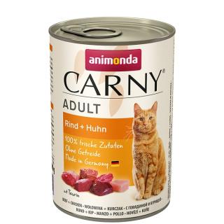 animonda Carny Adult Rind und Huhn 400g