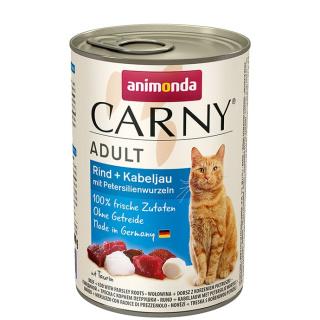 animonda Carny Adult Rind und Kabeljau 400g